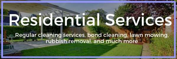 residential cleaning services mackay